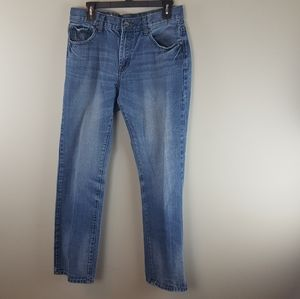 Relaxed fit straight cut lowrise jeans 32x32
